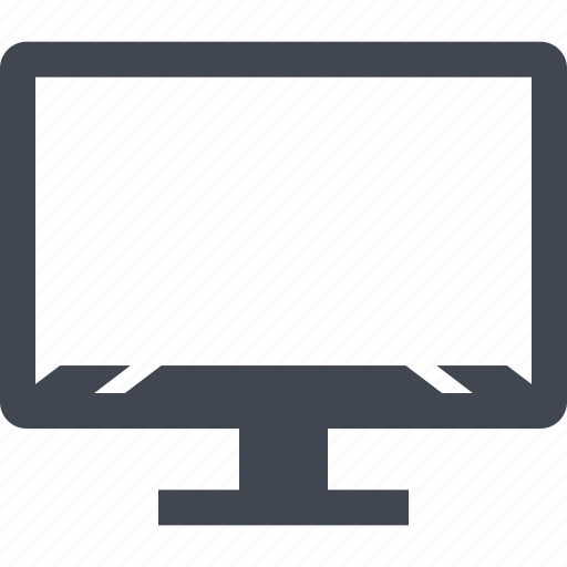 mac, machintosh, monitor, web icon