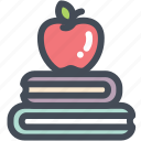 apple, books, education, learn, manuals, read, study