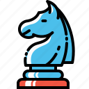 engagement, knight, move, seo, social, statics, strategy icon