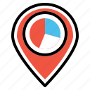 analysis, location, optimization, place, seo, statics, webpage icon