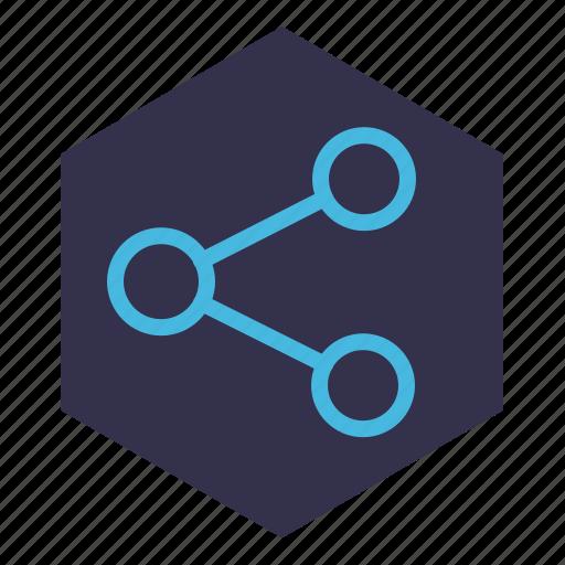 data, internet, net, network, share, social networks icon