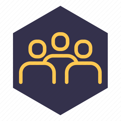 collective, command, employees, office, staff, team, user icon