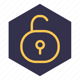 access, open, protection, turn up, unblock, unlock icon