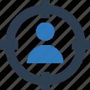 focus, focus button, focus selector, focus square, select layer, square, target icon
