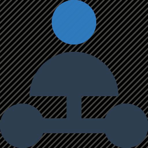 hierarchy, hierarchy of team, team structure icon