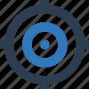 aim, bullseye board, goal, shooting, target icon