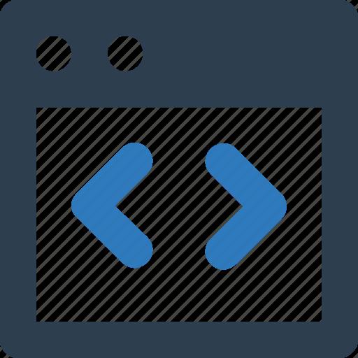 div, div coding, html coding icon