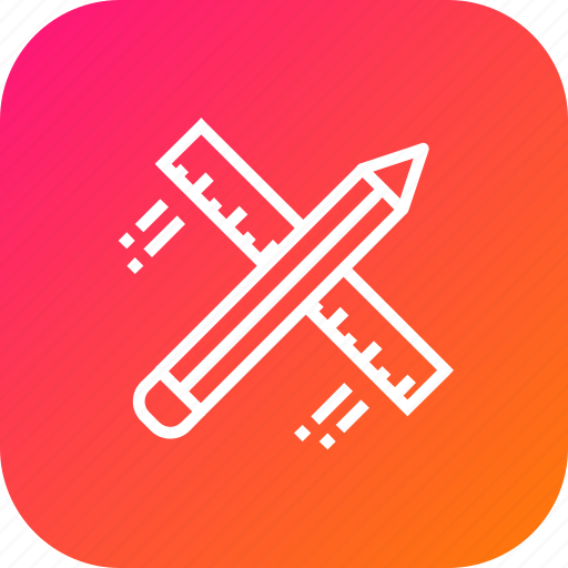 architecture, design, drawing, flying, pencil, ruler, stationary icon