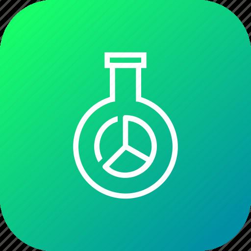 glass, market, report, research, seo, statics, tube icon