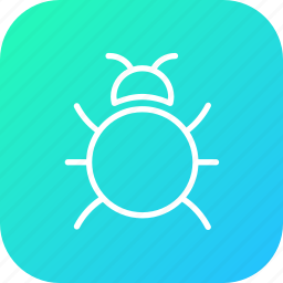 bug, fixing, insect, repair, spider, virus, web icon