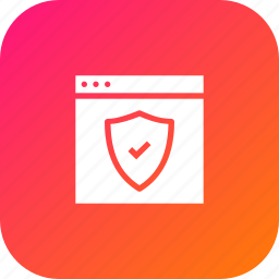 optimization, page, secure, seo, shield, webpage, website icon