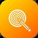 board, bullseye, dart, goal, idea, pencil, target