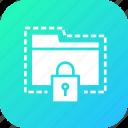 folder, lock, password, protect, secure, seo, tools