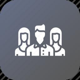 audience, market, marketing, media, promotion, social, target icon