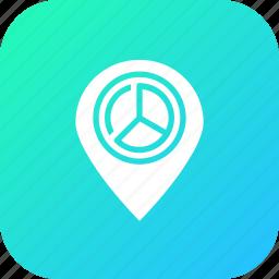 analysis, location, navigation, optimization, place, statics, webpage icon