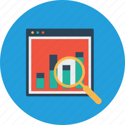 analysis, monitoring, numbers, performance, seo, statics, web icon