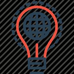 creative, idea, internet, marketing, optimization, statics, world icon