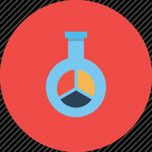 chart, glass, market, report, research, seo, statics icon