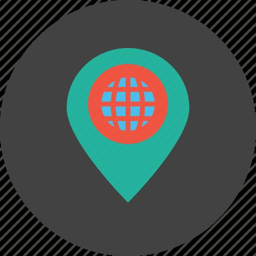 internet, location, marker, optimization, pin, place, webpage icon