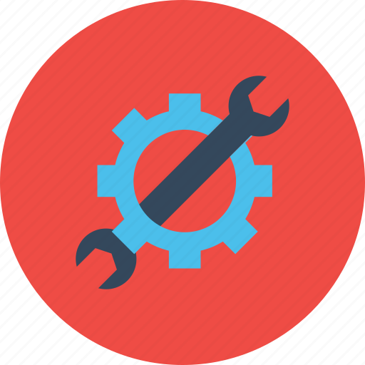 gear, optimization, preferences, seo, settings, web, wrench icon