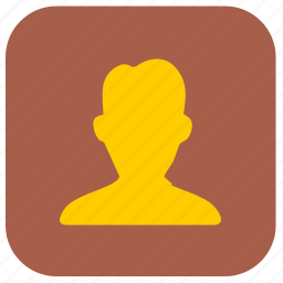 address, book, pages, person, phone, yellow icon