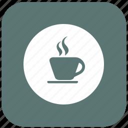 break, cappuccino, coffee, cup, hot, pause, tea icon