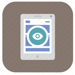 book, device, ipad, page, reader, vertical, view icon
