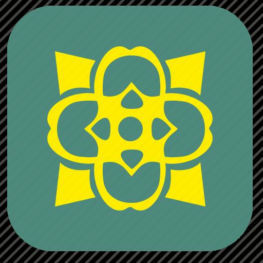 bud, flower, irish, pub icon