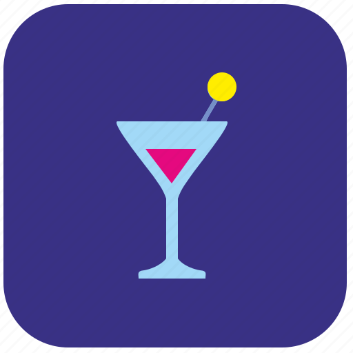 alcohol, coctail, drink, martini, party, time icon
