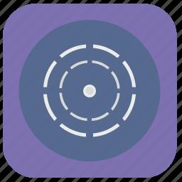 border, dot, geo, model, orbit, planet, round icon