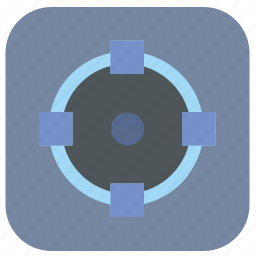 circle, editor, figure, graphics, round, transform, vectorial icon