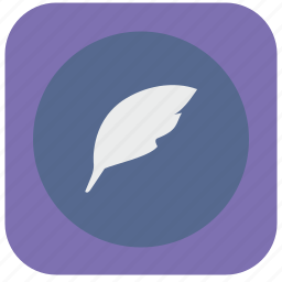 editor, feather, literature, pen, tool, word, write icon