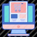 catalog, ecommerce, store icon