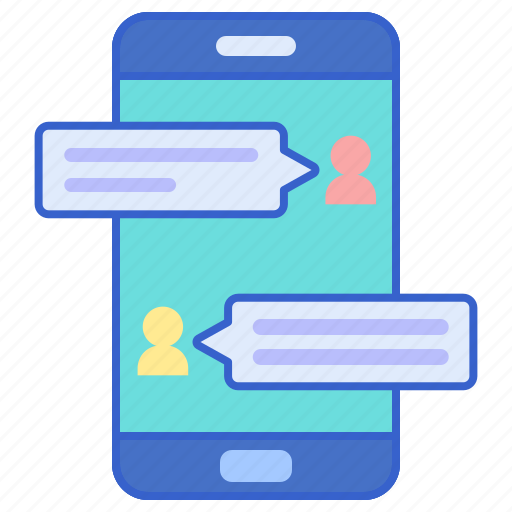 chat, conversation, store icon