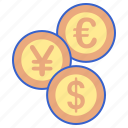 currency, money, store icon