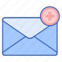 email, shopping, store icon