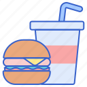 and, drink, food icon
