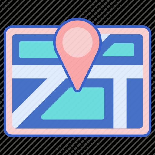 location, store, web icon