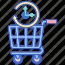 preorder, store, web icon