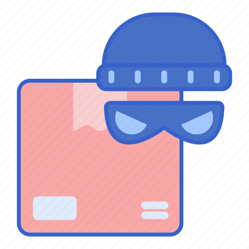 package, stolen, store icon