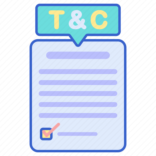 and, conditions, store, term icon