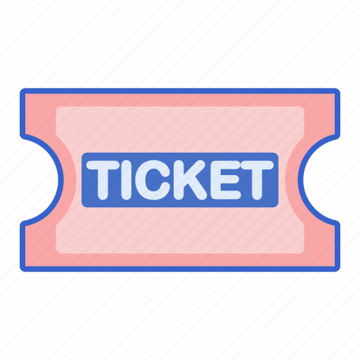 store, ticketing, web icon