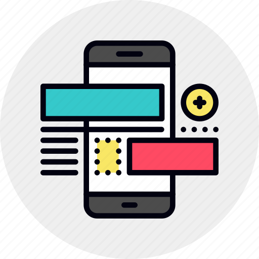 Developer, frontend, interface, mobile, phone, ui, ux icon - Download on Iconfinder