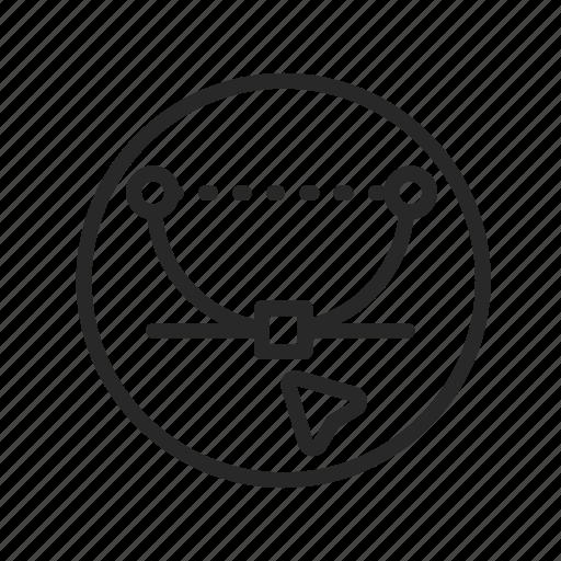 curve, design, line, vector graphics icon
