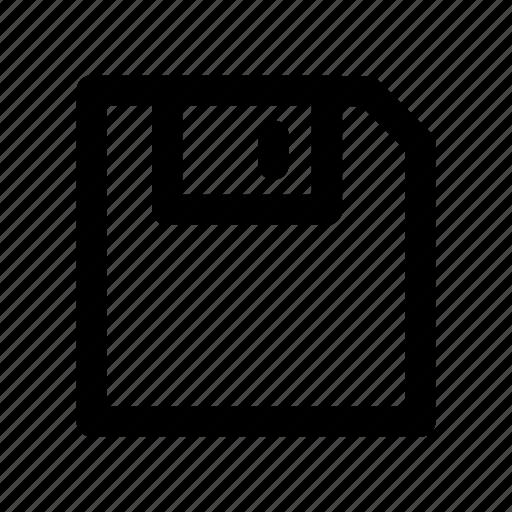 device, floppydisk, hardware, media, storage icon