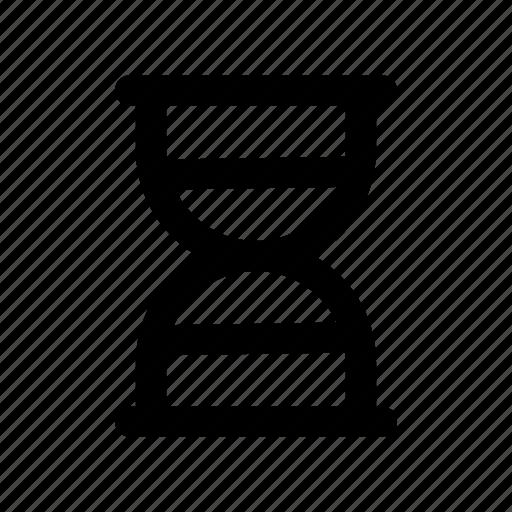 clock, deadline, hourglass, sand, timer icon