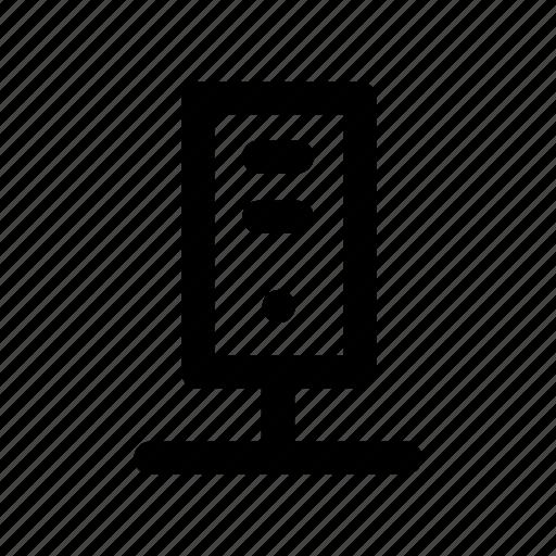 device, mainframe, server, sharing, storage icon