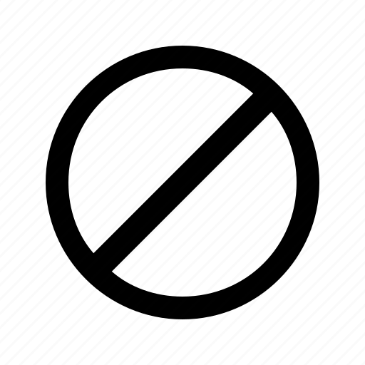 block, blocked, caution, forbidden, remove, taboo, tabu icon