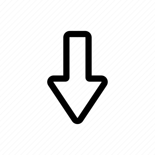 arrow, direction, down, point, up icon