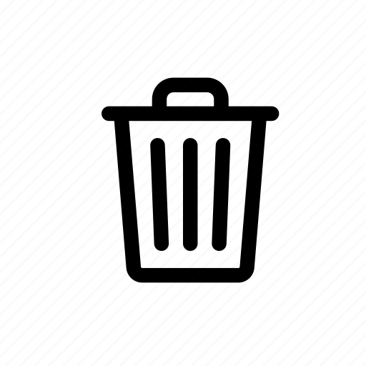 can, recycle, trash, trash can, waste icon